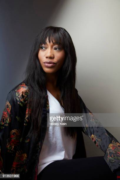 Tahira 'Tee Tee' Francis from 'Growing Up Hip Hop' poses for a portrait in the YouTube x Getty Images Portrait Studio at 2018 Sundance Film Festival...