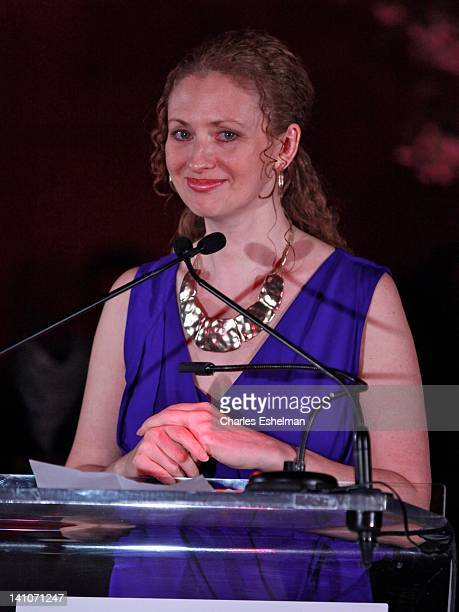 Tahirih Justice Center executive director Layli MillerMuro attends the 3rd annual Diane Von Furstenberg awards at the United Nations on March 9 2012...