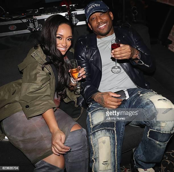 Tahiry and Maino attend DJ Suss One Birthday Celebration at The Loft on November 15 2016 in New York City