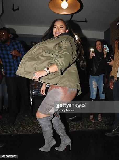 Tahiry attends DJ Suss One Birthday Celebration at The Loft on November 15 2016 in New York City