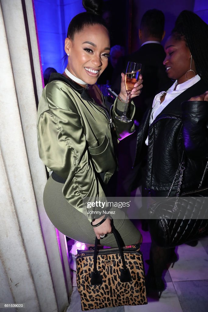 Tahiry attends Icon Talks Salutes Fabolous at Brooklyn Borough Hall on March 9, 2017 in New York City.