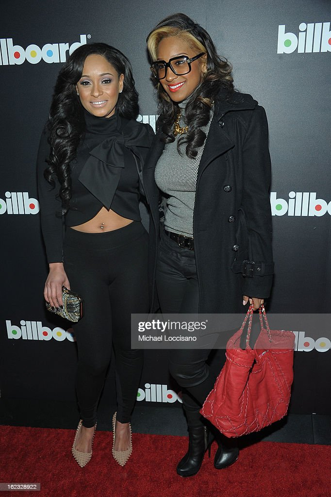 Tahiry Jose, and Olivia Longott attend The New Billboard Launch Event at Stage 48 on February 21, 2013 in New York City.
