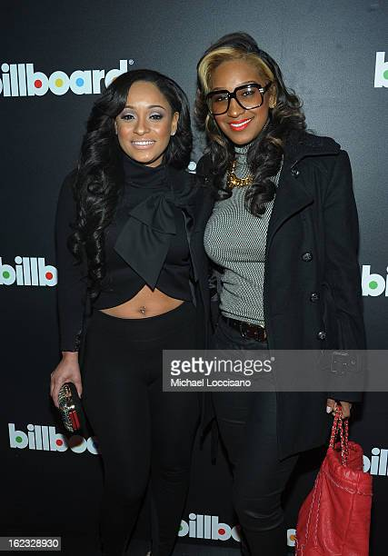 Tahiry Jose and Olivia Longott attend The New Billboard Launch Event at Stage 48 on February 21 2013 in New York City