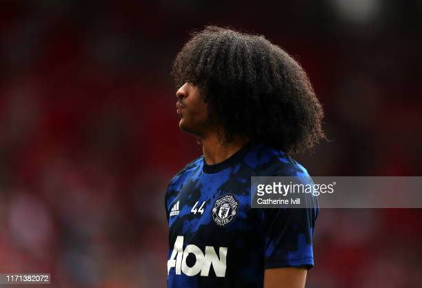 Tahith Chong of Manchester United ahead the Premier League match between Southampton FC and Manchester United at St Mary's Stadium on August 31, 2019...