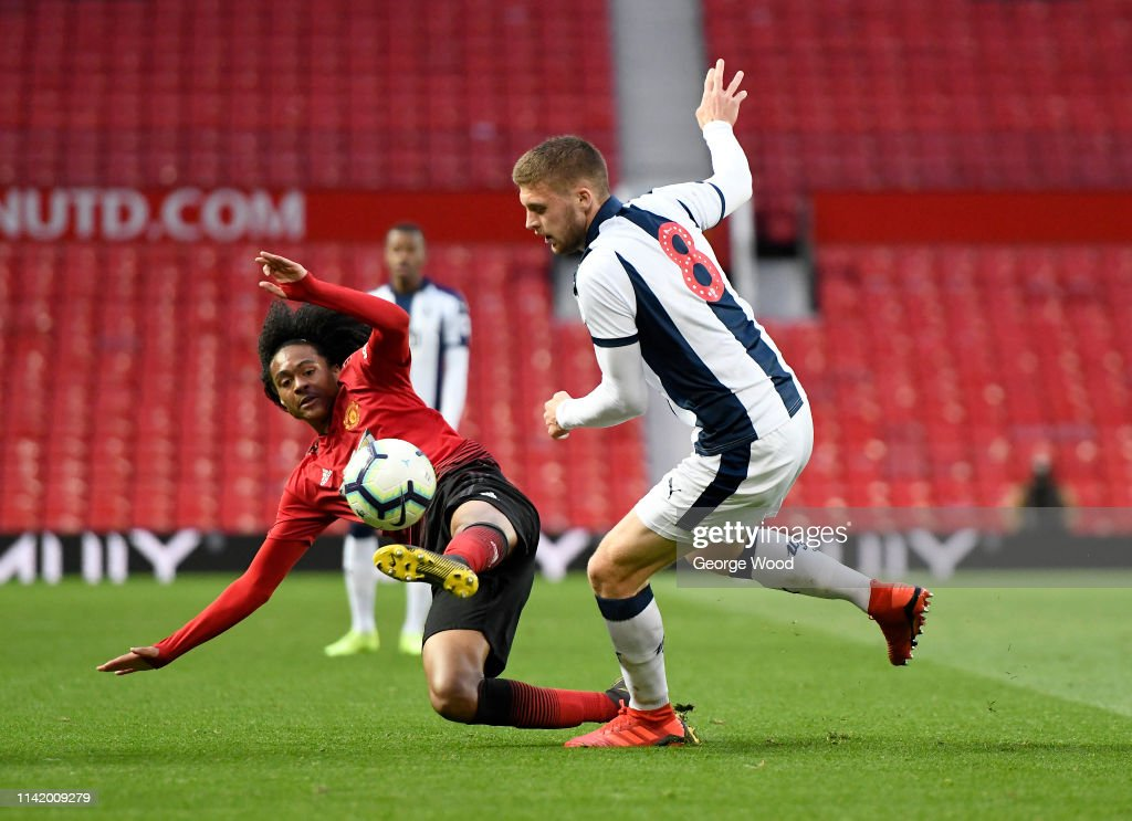 Manchester United v West Bromwich Albion - Premier League 2 : News Photo