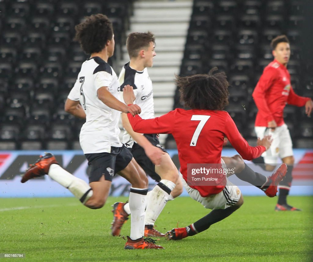 Derby County v Manchester United: FA Youth Cup