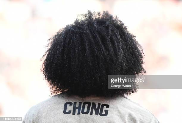 Tahith Chong of Manchester United U21 during the EFL Trophy match between Rotherham United and Manchester United U21 at AESSEAL New York Stadium on...