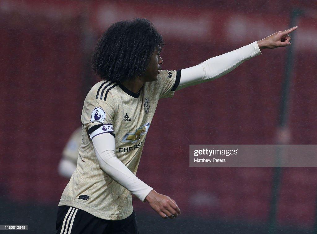 Manchester United v Middlesbrough FC - Premier League 2 : News Photo