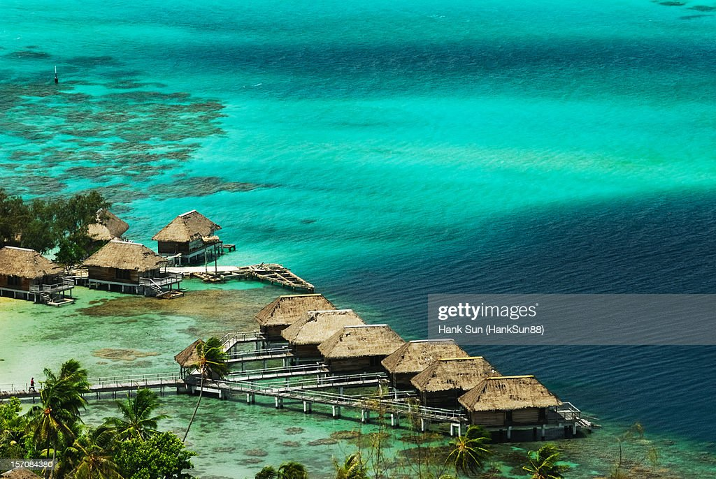 Tahiti Bora Bora Resort : Foto de stock