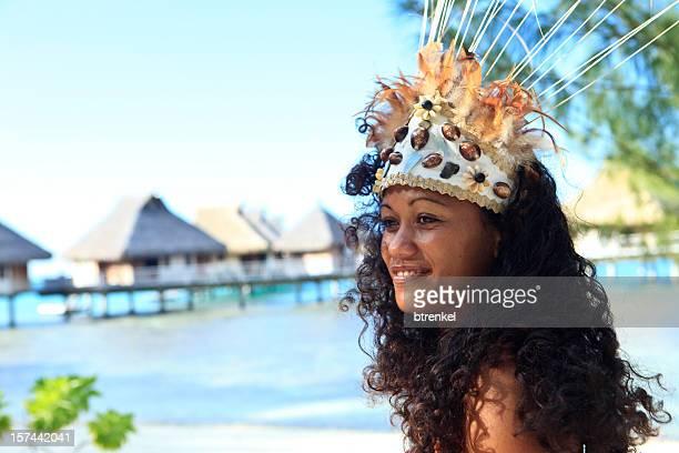 tahiti - dancer - tahiti stock pictures, royalty-free photos & images