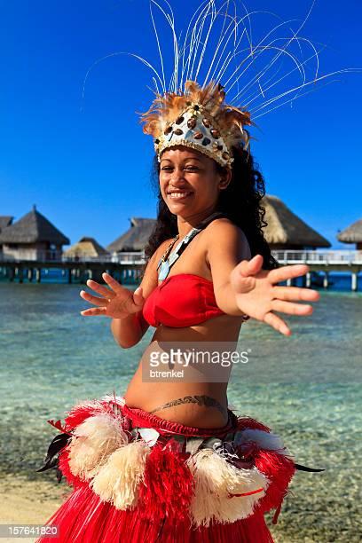 Tahiti  - dancer