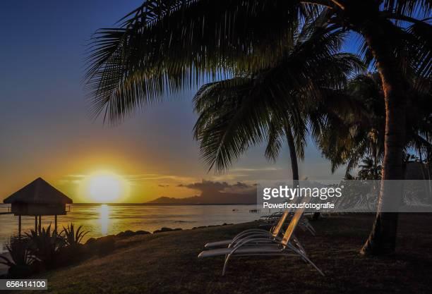 Tahiti magic beach