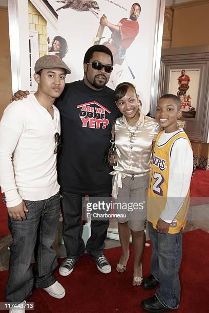 Tahj Mowry Ice Cube Aleisha Allen and Philip Daniel Bolden