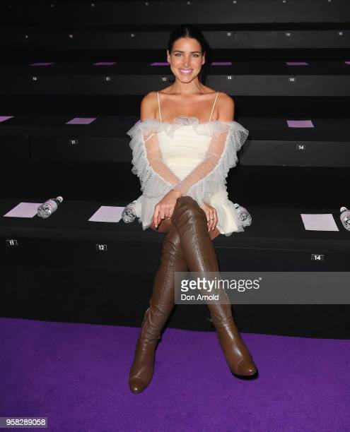 Tahnee Atkinson attends the Alice McCall show at MercedesBenz Fashion Week Resort 19 Collections at Carriageworks on May 14 2018 in Sydney Australia