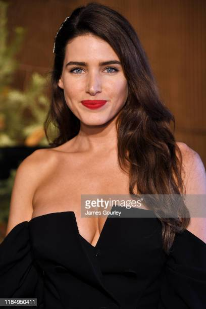 Tahnee Atkinson attends the Lexus marquee during Derby Day at Flemington Racecourse on November 02 2019 in Melbourne Australia
