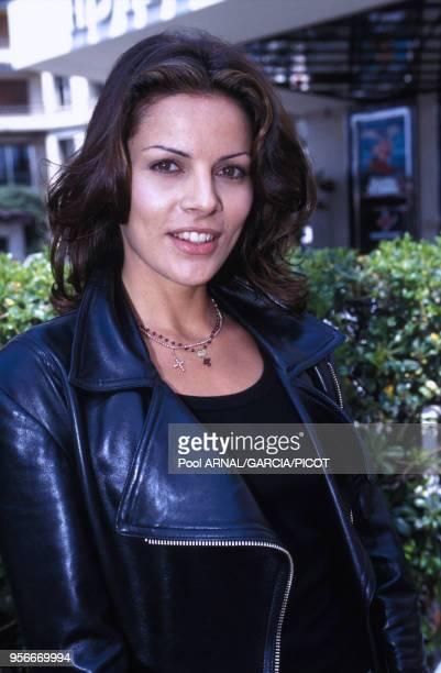 Tahnee Welch fille de Raquel Welch au Festival de Cannes en mai 1993 France