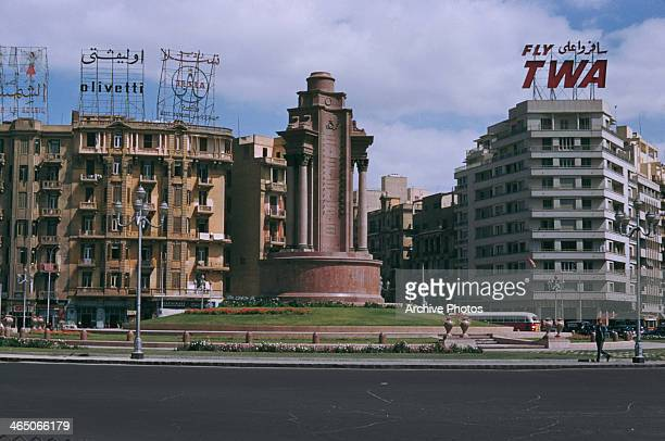 Tahrir Square in Cairo, Egypt, May 1959.