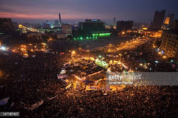 tahrir square - november 25, 2011 - tahrir square cairo stock pictures, royalty-free photos & images