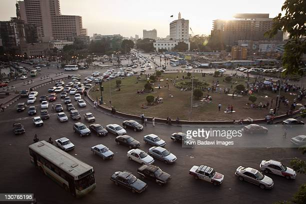 Tahrir Square on May 17, 2011 in downtown Cairo, Egypt.