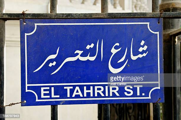 tahrir street in cairo - tahrir square cairo stock pictures, royalty-free photos & images