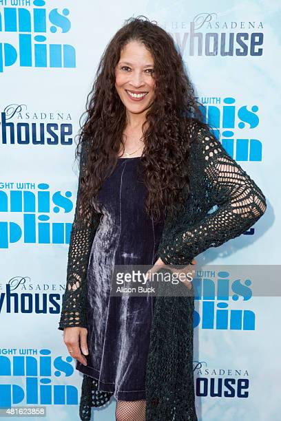 Tai Babilonia attends A Night With Janis Joplin Los Angeles Opening Night Performance at Pasadena Playhouse on July 22 2015 in Pasadena California