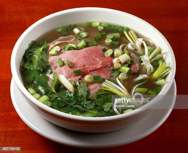 Tai Gau beef noodle soup is pictured at Pho 88 in Lowell MA on Feb 10 2016