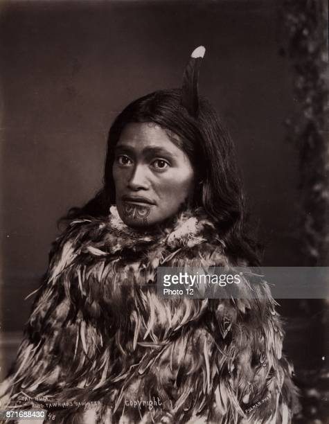 Tai Huia King Tawhiao's daughter 1880 Maori princess with tattoos New Zealand