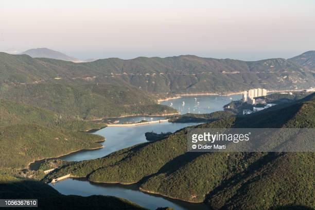 Tai Tam reservoir in Hong Kong island