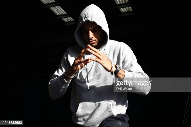 Tai Webster of the New Zealand Breakers during a training session at Functional Strength HQ on June 10 2020 in Auckland New Zealand