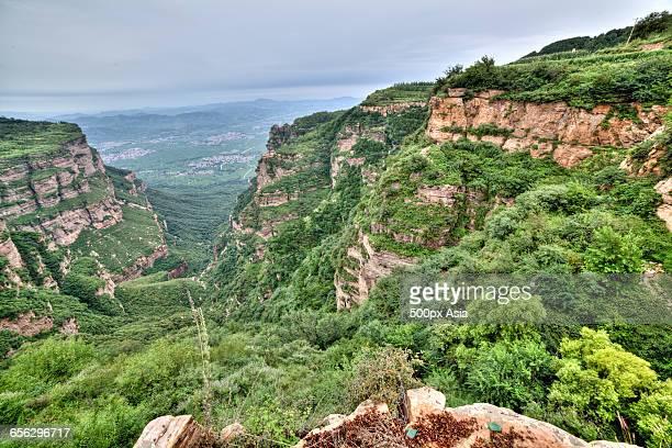 taihang mountains - 太行山脈 ストックフォトと画像
