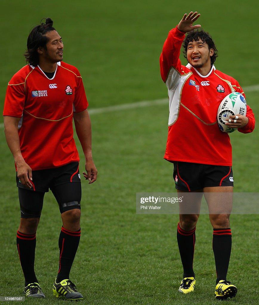 Japan IRB RWC 2011 Captain's Run