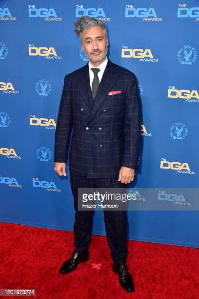 Taika Waititi arrives for the 72nd Annual Directors Guild Of America Awards at The Ritz Carlton on January 25 2020 in Los Angeles California