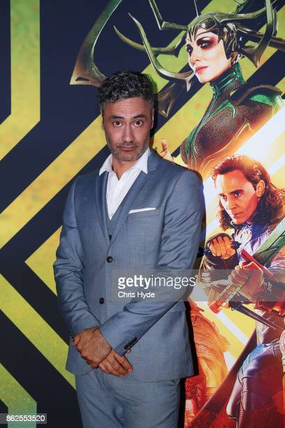 Taika Waititi arrives for the Thor Ragnarok Australian Premiere at Event Cinemas Robina on October 13 2017 in Gold Coast Australia