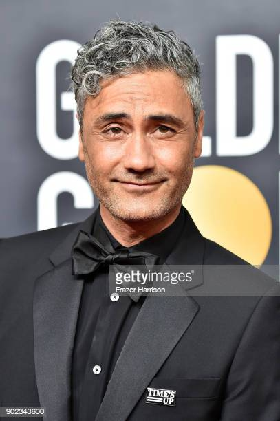 Taika Waititi attends The 75th Annual Golden Globe Awards at The Beverly Hilton Hotel on January 7 2018 in Beverly Hills California
