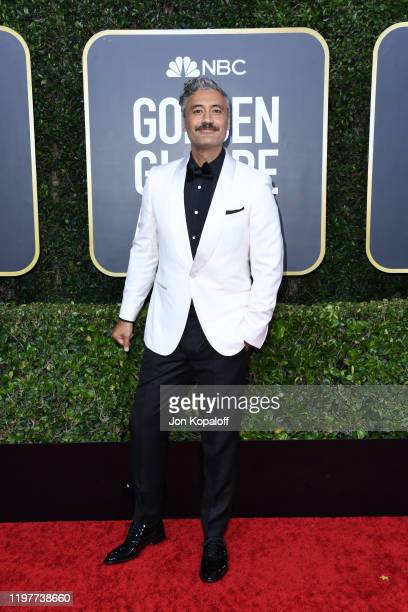 Taika Waititi attends the 77th Annual Golden Globe Awards at The Beverly Hilton Hotel on January 05 2020 in Beverly Hills California