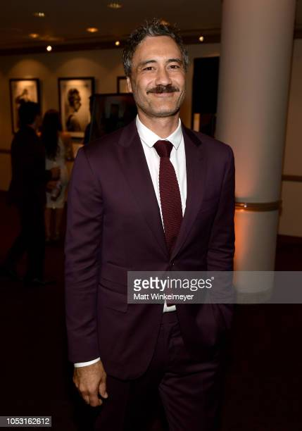 Taika Waititi attends the 7th Annual Australians in Film Awards Gala at Paramount Studios on October 24 2018 in Los Angeles California