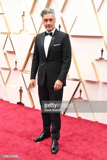 Taika Waititi attends the 92nd Annual Academy Awards at Hollywood and Highland on February 09 2020 in Hollywood California