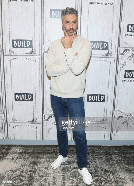 Taika Waititi attends the Build Series at Build Studio on October 31 2017 in New York City