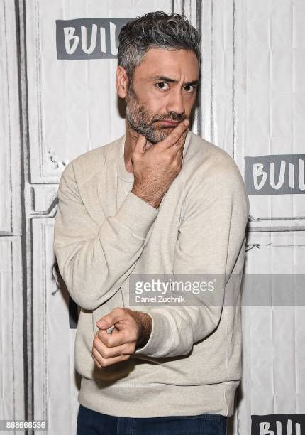 Taika Waititi attends the Build Series to discuss the new film 'Thor Ragnarok' at Build Studio on October 31 2017 in New York City