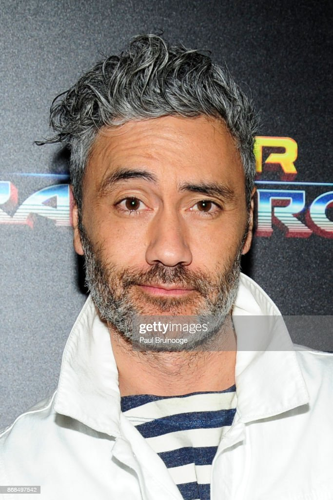 Taika Waititi attends The Cinema Society with FIJI Water, Men's Journal, and Synchrony host a screening of Marvel Studios' 'Thor: Ragnarok' at the Whitby Hotel on October 30, 2017 in New York City.