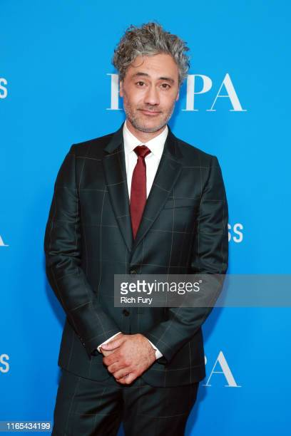 Taika Waititi attends the Hollywood Foreign Press Association's Annual Grants Banquet at Regent Beverly Wilshire Hotel on July 31 2019 in Beverly...