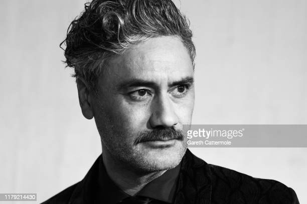 Taika Waititi attends the JoJo Rabbit European Premiere during the 63rd BFI London Film Festival at Odeon Luxe Leicester Square on October 05 2019 in...