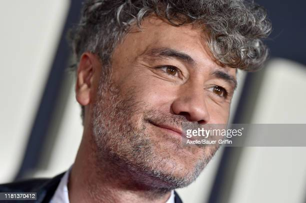 Taika Waititi attends the Premiere of Fox Searchlights' Jojo Rabbit at Post 43 on October 15 2019 in Los Angeles California