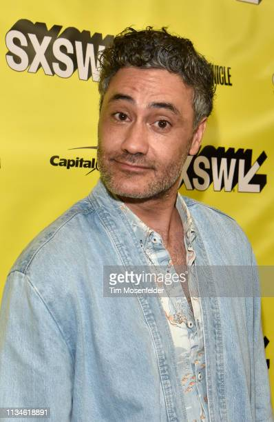 Taika Waititi attends the premiere of What We Do In The Shadows during 2019 SXSW Conference and Festival at the Paramount Theater on March 08 2019 in...