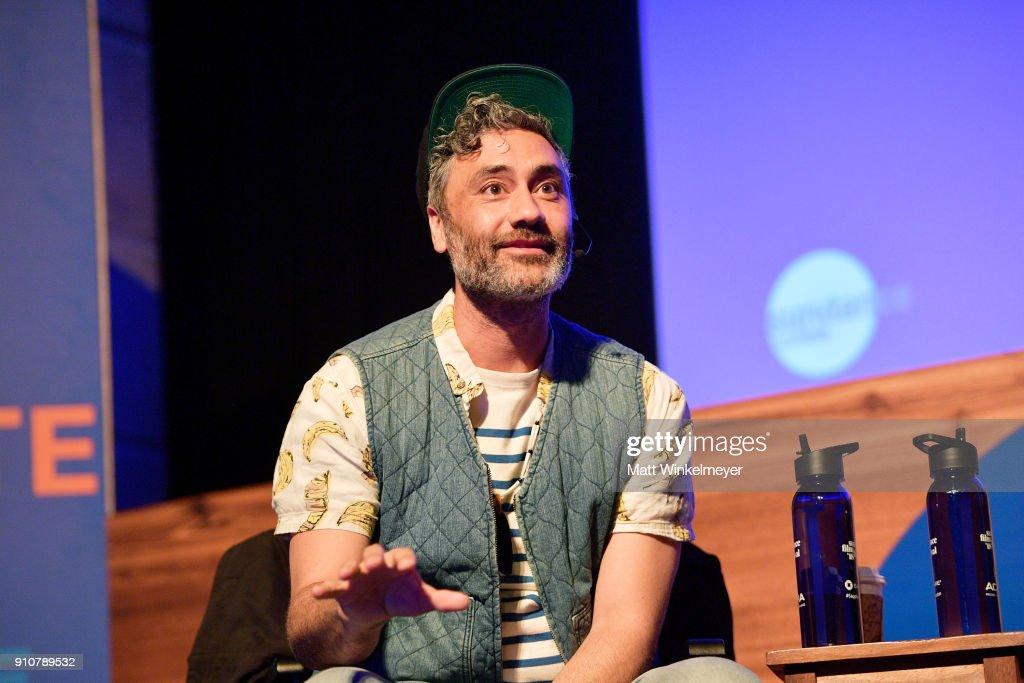 2018 Sundance Film Festival - Power Of Story Panel - Indies Go Hollywood : News Photo