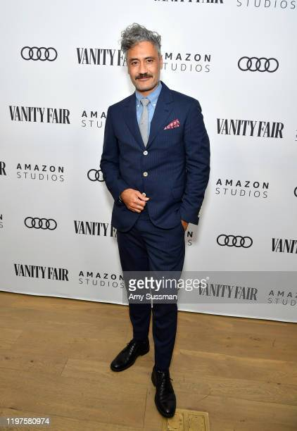 Taika Waititi attends The Vanity Fair x Amazon Studios 2020 Awards Season Celebration at San Vicente Bungalows on January 04 2020 in West Hollywood...