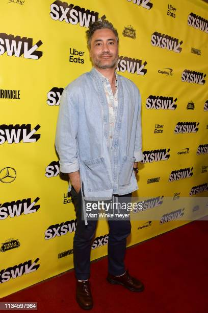 Taika Waititi attends the What We Do in the Shadows Premiere 2019 SXSW Conference and Festivals at the Paramount Theater on March 08 2019 in Austin...