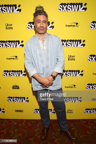 """Taika Waititi attends the """"What We Do in the Shadows"""" Premiere during the 2019 SXSW Conference and Festivals at Paramount Theatre on March 8, 2019 in..."""