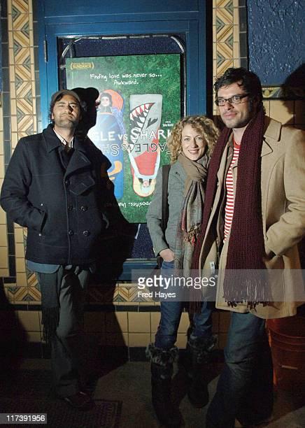 Taika Waititi director Loren Horsley and Jemaine Clement
