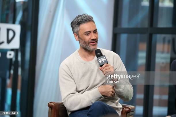 Taika Waititi discusses Thor Ragnarok during the Build Series at Build Studio on October 31 2017 in New York City